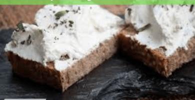 Crema de queso vegano a las finas hierbas