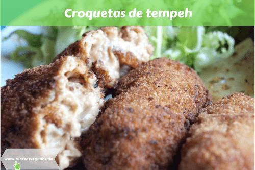 Croquetas de tempeh