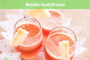 Batido multifrutas
