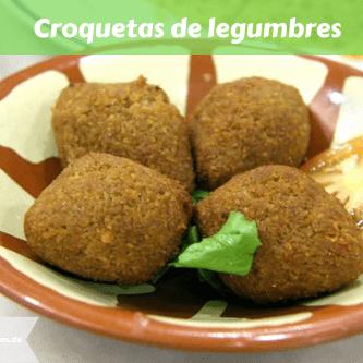 Croquetas de legumbres versión Margari