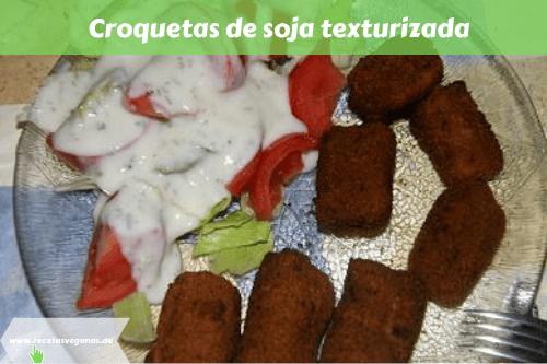 Croquetas de soja texturizada