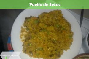 Paella de Setas